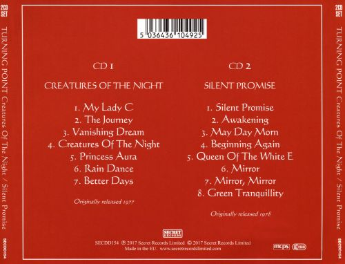 Creatures of the Night/Silent Promise