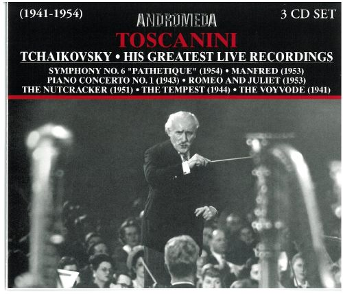 Tchaikovsky: His Greatest Live Recordings