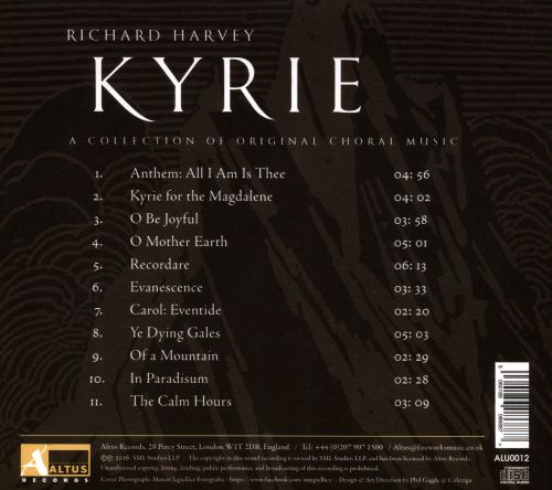 Richard Harvey: Kyrie - A Collection of Original Choral Music