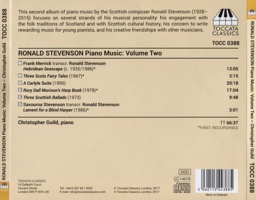 Ronald Stevenson: Piano Music, Vol. 2