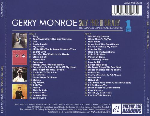 Sally, Pride of Our Alley: The Complete Chapter One Recordings