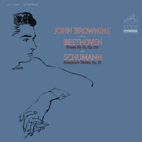 John Browning plays Beethoven and Schumann