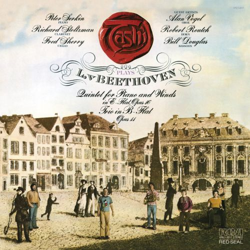 Tashi plays Beethoven: Quintet for Piano and Winds in E flat, Op. 16; Trio in B-flat, Op. 11