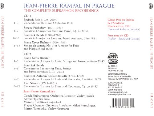 Rampal in Prague: The Complete Supraphon Recordings