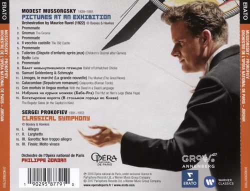 Mussorgsky: Pictures at an Exhibition; Prokofiev: Classical Symphony