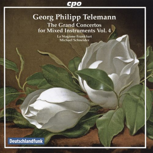 Georg Philipp Telemann: The Grand Concertos for Mixed Instruments, Vol. 4