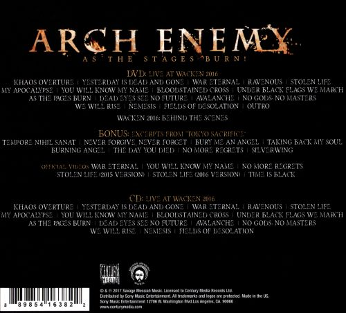 As the Stages Burn! - Arch Enemy | Credits | AllMusic
