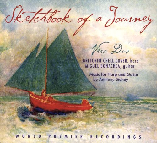 Sketchbook of a Journey: Music for Harp and Guitar by Anthony Sidney