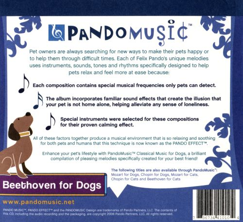 Pando Music presents Beethoven for Dogs