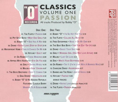 O Records Classics, Vol. 1: Passion