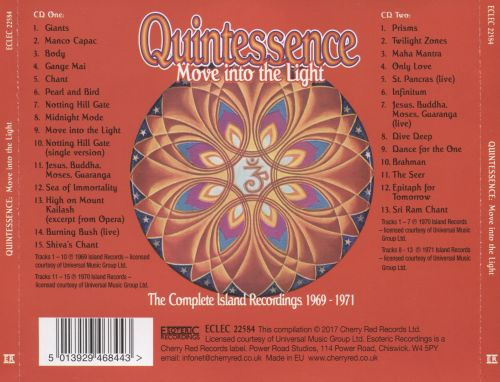 Move Into the Light: The Complete Island Recordings 1969-1971