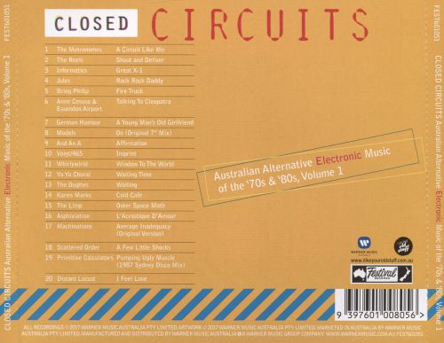 Closed Circuits: Australian Alternative Electronic Music of the 70s & 80s