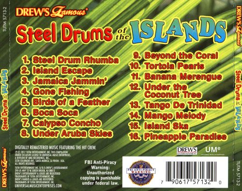 Steel Drums of the Island