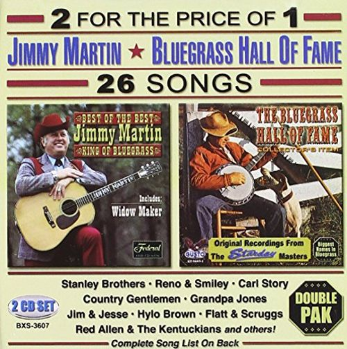 26 Songs: Jimmy Martin & Others