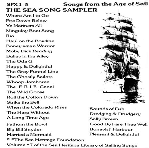 Sea Song Sampler: Songs From the Age of Sail