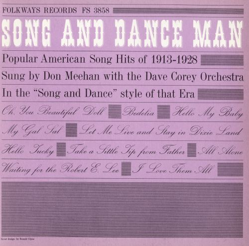 Song & Dance Man: Popular American Hits 1913-1928