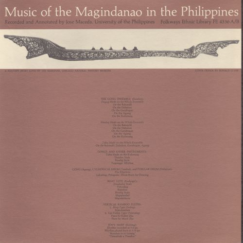 Music of the Magindanao in the Philippines, Vols. 1-2