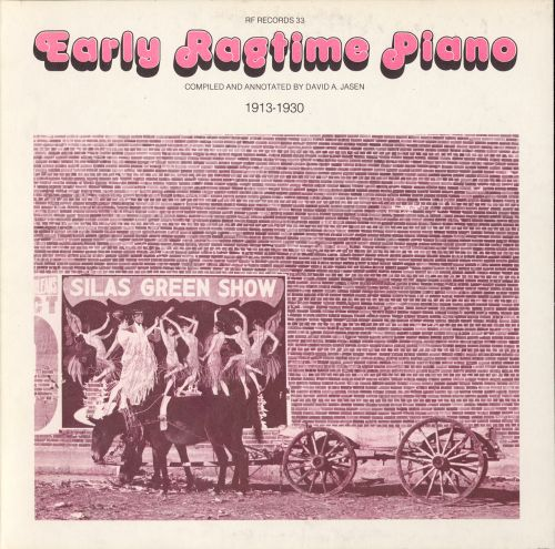 Early Ragtime Piano