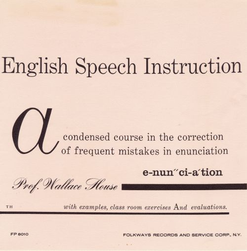 Sounds of Spoken English: English Speech