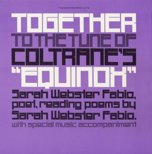 Together to the Tune of Coltrane's Equinox