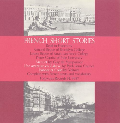 French Short Stories, Vol. 1: Read in French
