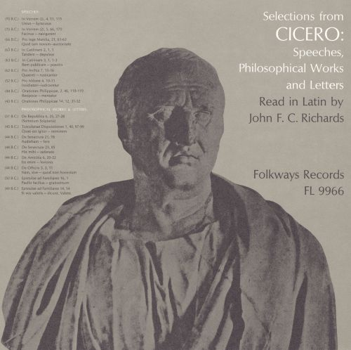 Selections from Cicero