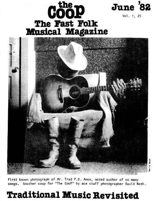 Fast Folk Musical Magazine, Vol. 5 #1