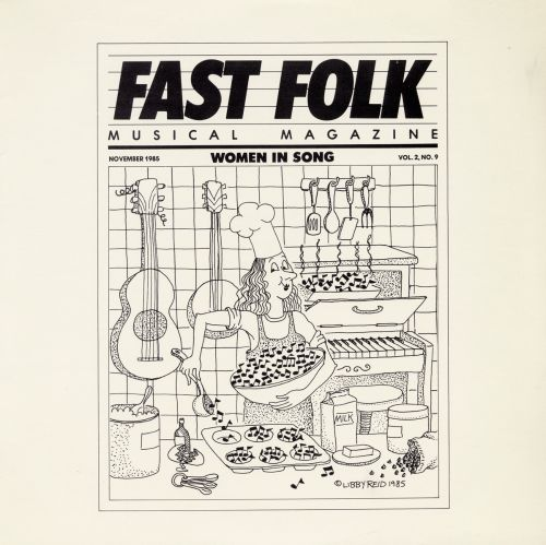 Fast Folk Musical Magazine, Vol. 9 #2