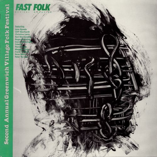 Fast Folk Musical Magazine, Vol. 10 #4