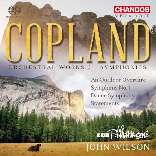 Copland: Orchestral Works, Vol. 3 - Symphonies