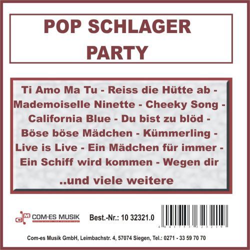 Pop Schlager Party