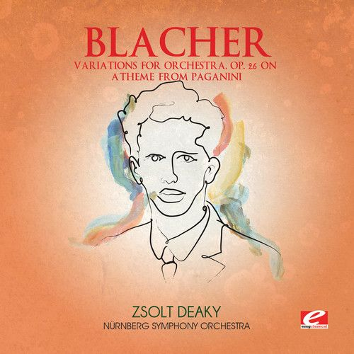 Blacher: Variations for Orchestra, Op. 26 on a Theme from Paganini