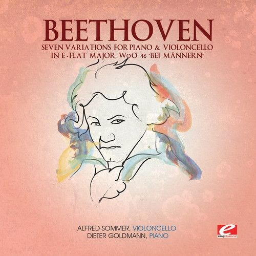 Beethoven: Seven Variations for Piano & Violoncello in E-flat major, WoO 46 'Bei Männern'