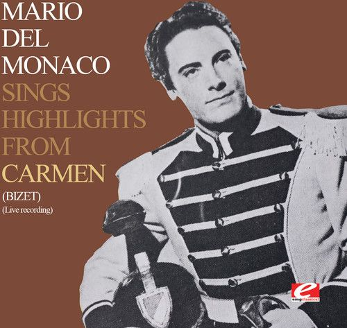 Mario del Monaco Sings Highlights from Carmen