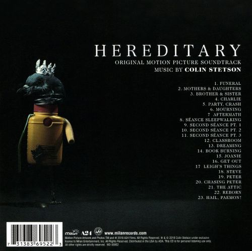 Hereditary [Original Motion Picture Soundtrack]